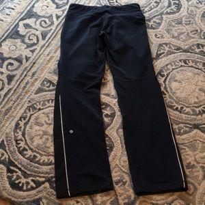 Pants - Rare LULULEMON speed pants with waterproof front